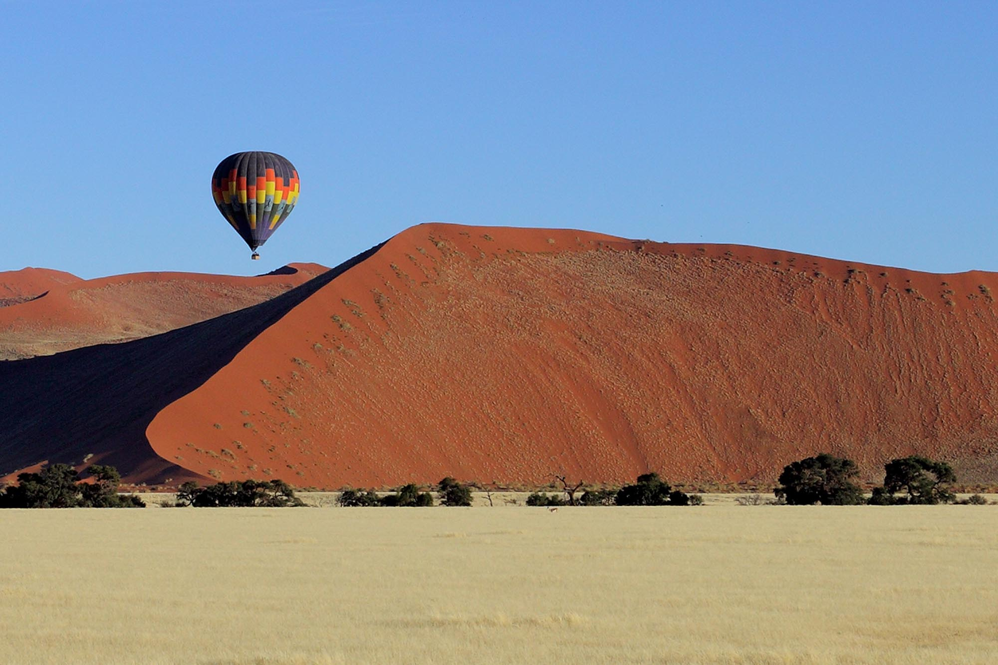 Air balloon in Namibia - Namibia - Deserts and Dunescapes