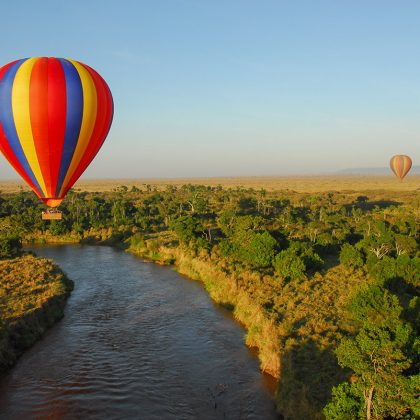 East Africa - Hot Air Balloon