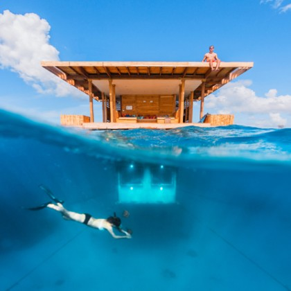 The Under sea Room, Zanzibar