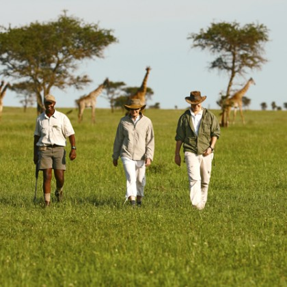Walking safaris in Southern Africa
